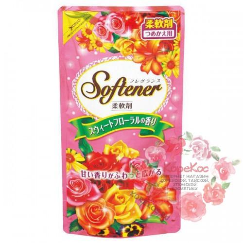 """Кондиционер для белья """"Softener floral"""" с нежным цветочным ароматом и антибактериальным эффектом"""