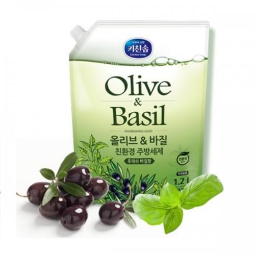 Средство для мытья посуды Olive&Basil Dishwashing Detergent