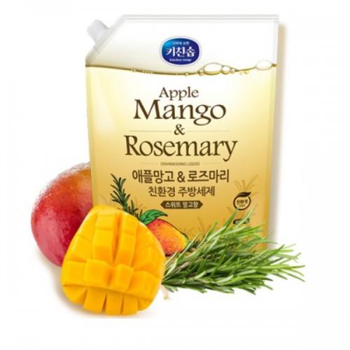 Средство для мытья посуды Apple mango&Rosemary Dishwashing Detergent