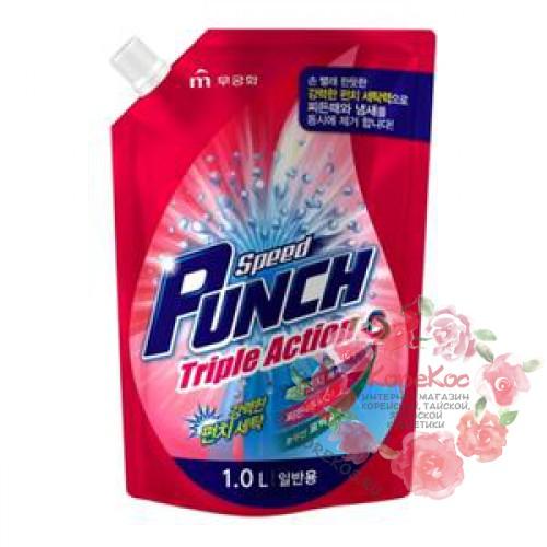 Жидкое средство для стирки Speed Punch Triple Action for Top Loading Washer