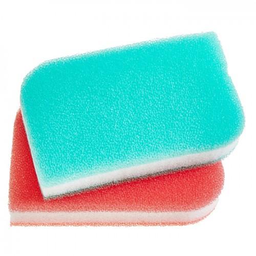 Скруббер-мочалка для мытья посуды набор ( 11,5 х 7,5 х 2,5) TRIPLE FILTER SCRUBBER