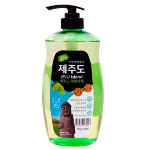 Средство для мытья посуды YUNSOL JEJU Island Green Grape с ароматом зеленого винограда