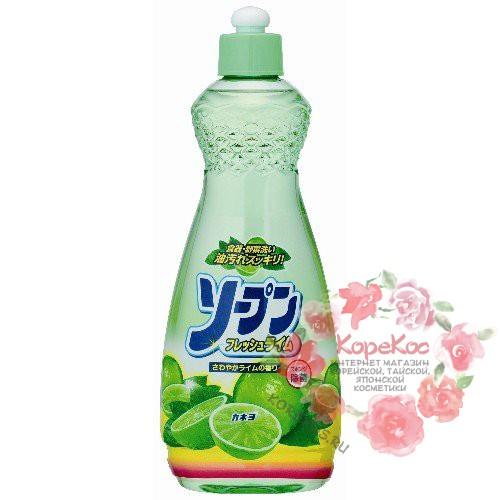 Жидкость для мытья посуды «Kaneyo - Свежий лайм» 600 мл