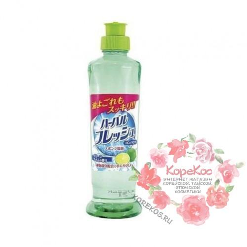 Концентрированное средство для мытья посуды, овощей и фруктов (аромат зеленого лайма) 250 мл