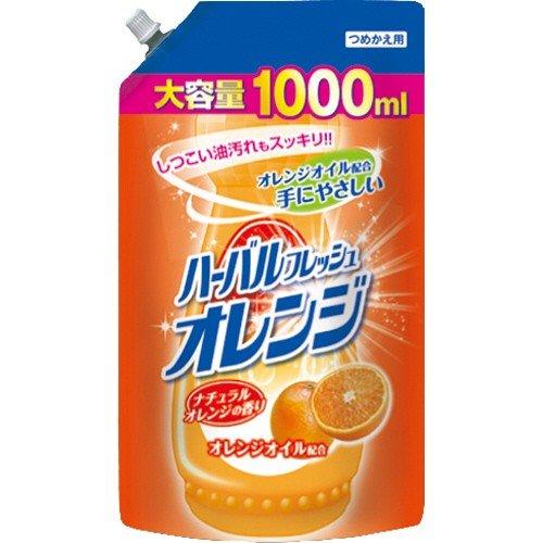 Средство для мытья посуды, овощей и фруктов (аромат апельсина) 1000мл