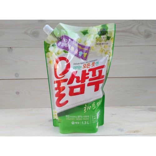 Жидкое средство Вул Шампу Жасмин Wool Shampoo