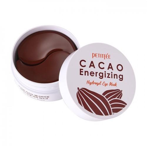Охлаждающие гидрогелевые патчи с экстрактом какао Cacao Energizing Hydrogel Eye Mask