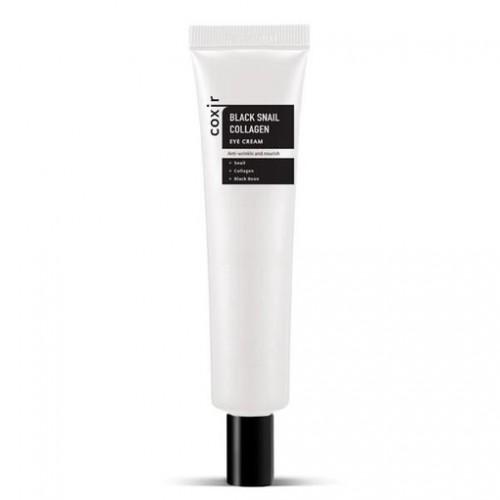 Антивозрастной крем для глаз с муцином черной улитки и коллагеном Black Snail Collagen Eye Cream