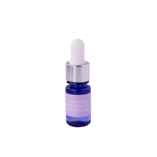 Сыворотка для жирной кожи головы с нормализующей аминокислотой HELLO BEAUTY 10 мл