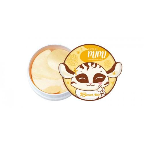 Патчи для глаз гидрогелевые с золотом Gold mimi hydrogel eye patch