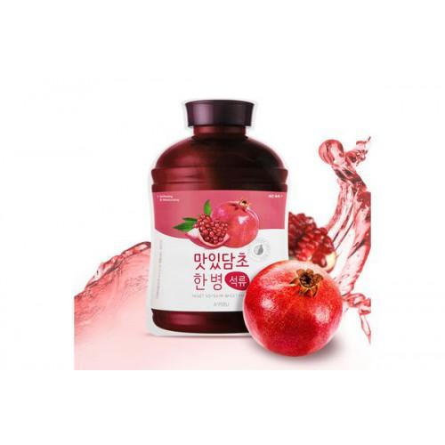 Маска для лица тканевая A'PIEU Fruit Vinegar Sheet Mask (Pomegranate)