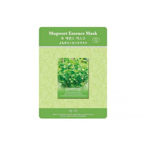 Маска тканевая полынь Mugwort Essence Mask