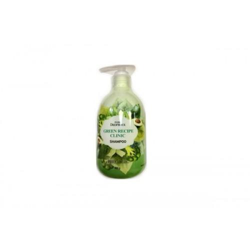 Шампунь для волос укрепляющий PURE DEOPROCE GREEN RECIPE CLINIC SHAMPOO