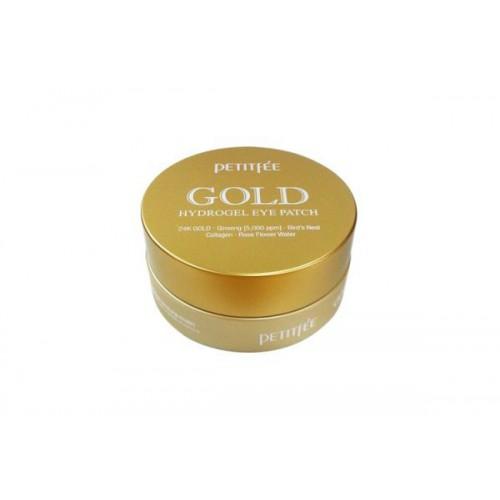 Патчи для глаз гидрогелевые с золотом PETITFEE GOLD Hydrogel Eye Patch