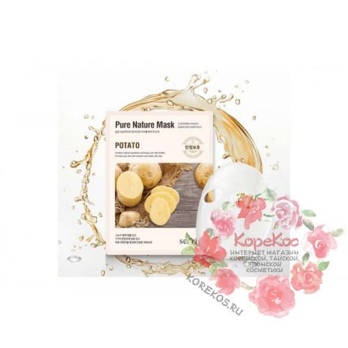 Маска для лица тканевая Secriss Pure Nature Mask Pack-Potato