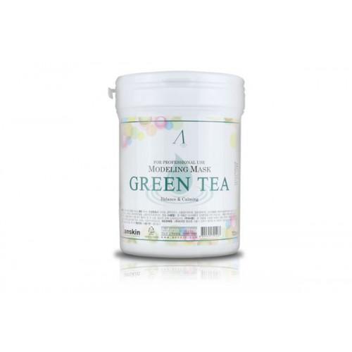 Маска альгинатная с экстрактом зеленого чая успокаивающая (банка) 700мл Grean Tea Modeling Mask /container