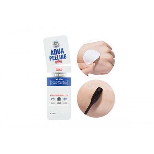Очищающие палочки от черных точек с АНА-кислотами A'PIEU Aqua Peeling Blackhead Swab
