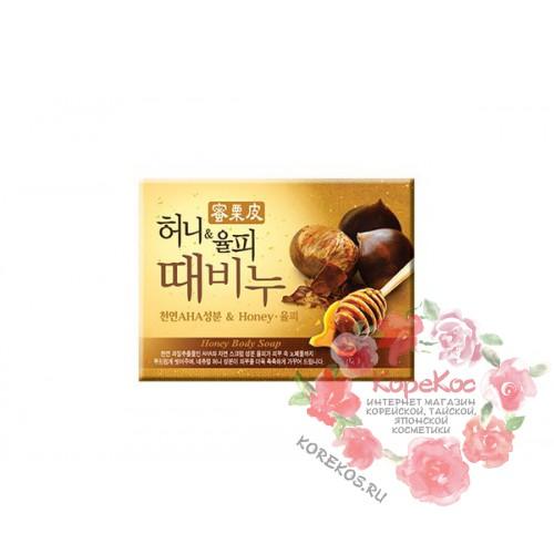 Мыло-скраб мед и каштан Honey & Chestnut Scrub Soap