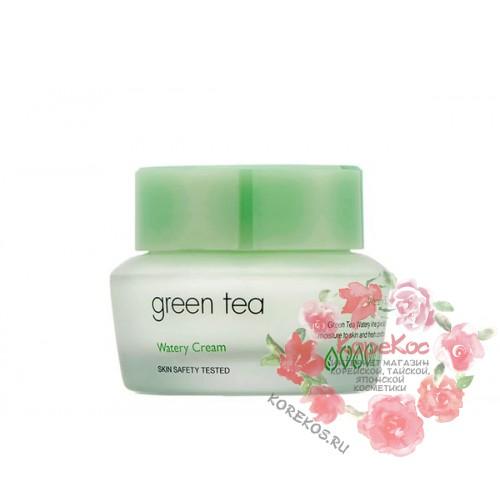 Крем для жирной и комбинированной кожи It's Skin Green Tea Watery Cream