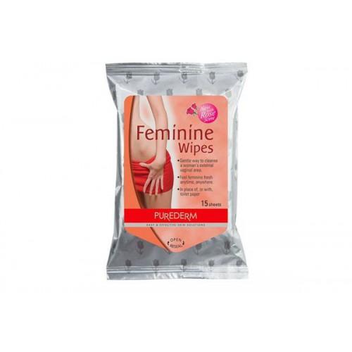 Салфетки для интимной гигиены Purederm Feminine Wipes