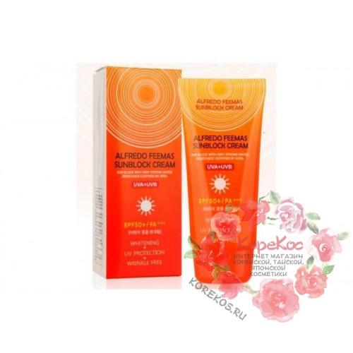 Солнцезащитный крем Lunaris Alfredo Feemas Sunblock Cream SPF50+/PA+++