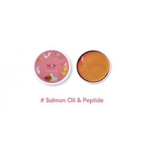 Патчи для глаз гидрогелевые с лососевым маслом и пептидами SALMON OIL & PEPTIDE HYDROGEL EYE PATCH