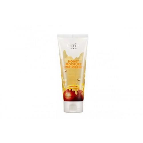 Мягкий увлажняющий пилинг для сухой кожи с медом Honey Moisture Soft Peeling
