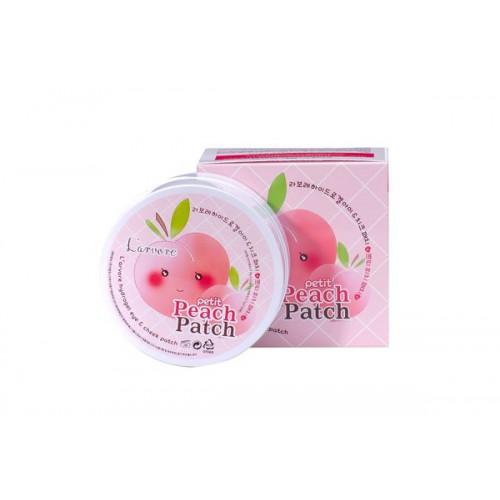 Патчи для глаз гидрогелевые L'arvore Hydrogel Eye& Cheek Petit Peach Patch