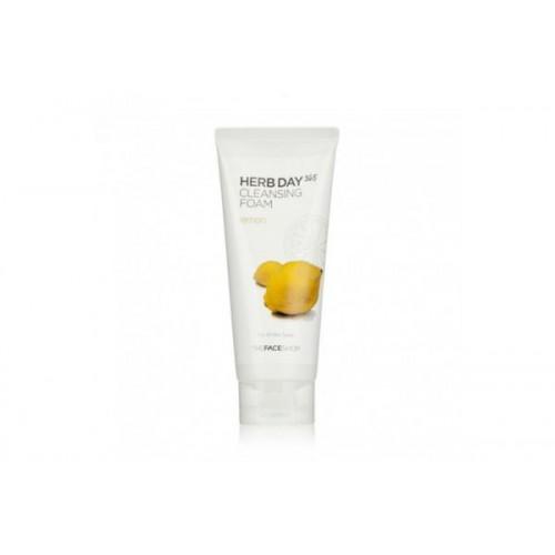 Пенка для умывания лимон HERBDAY 365 CLEANSING FOAM LEMON