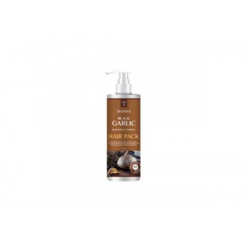 Маска для волос с экстрактом черного чеснока BLACK GARLIC INTENSIVE ENERGY HAIR PACK