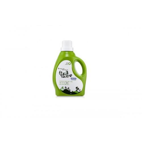 Стиральный жидкий порошок в бутылке Liquid Laundery Detergent 1,8л Ssook Soo Qoom