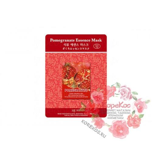 Маска тканевая гранат Pomegranate Essence Mask