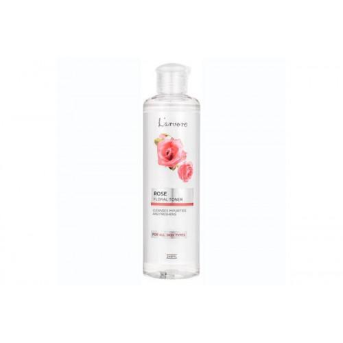 Тонер для лица с экстрактом розы увлажняющий L'arvore ROSE Floral Toner