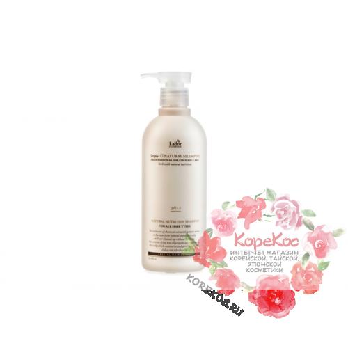 Шампунь с натуральными ингредиентами Triplex Natural Shampoo