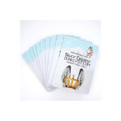 Маска тканевая с паровым кремом Silky Creamy donkey Steam Cream Mask Pack