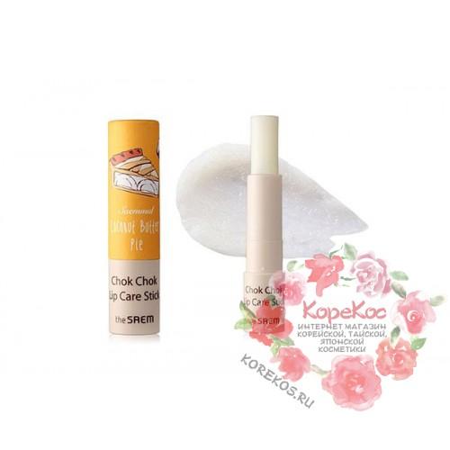 Бальзам-стик для губ Saemmul Chok Chok Lipcare Stick 01 Coconut Butter Pie