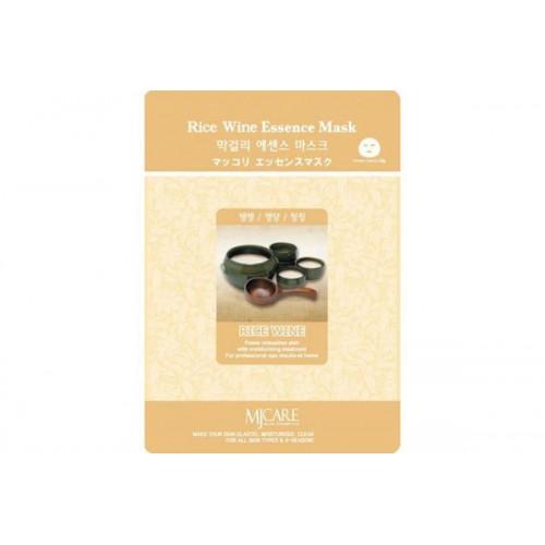 Маска тканевая Макколе (рисовое вино) Makgeolli Essence Mask
