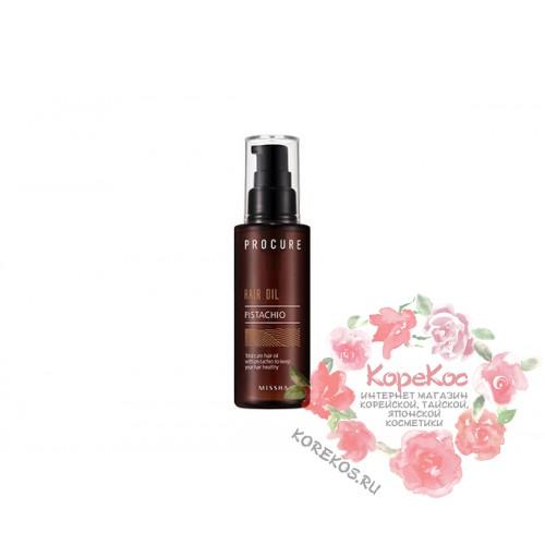 Масло для волос фисташковое MISSHA Procure Pistachio Hair Oil