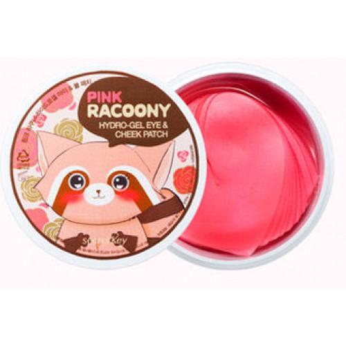 Патчи для глаз и скул гидрогелевые Pink Racoony Hydro-Gel Eye & Cheek Patch