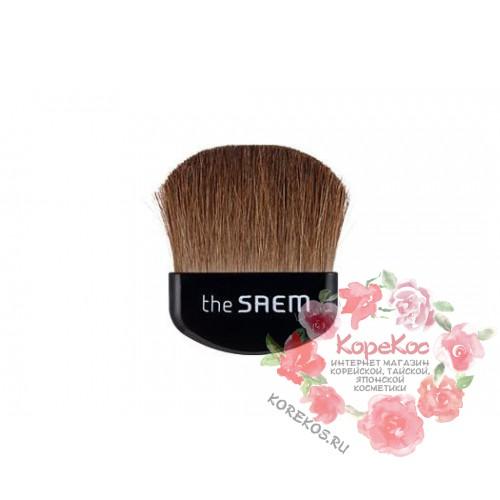 Кисть для нанесения румян Mini blusher brush