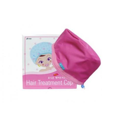 Термошапка для сушки, укрепления и ламинирования волос Hair treatment cap
