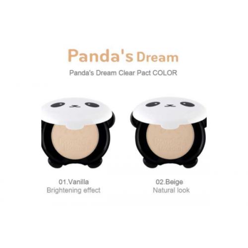 Пудра компактная матирующая PANDA'S DREAM CLEAR PACT