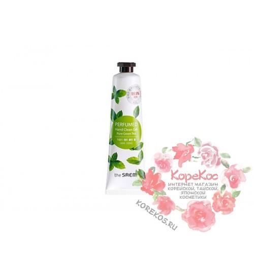 Крем-гель для рук парфюмированый очищающий Perfumed Hand Clean Gel (Pure Green tea)