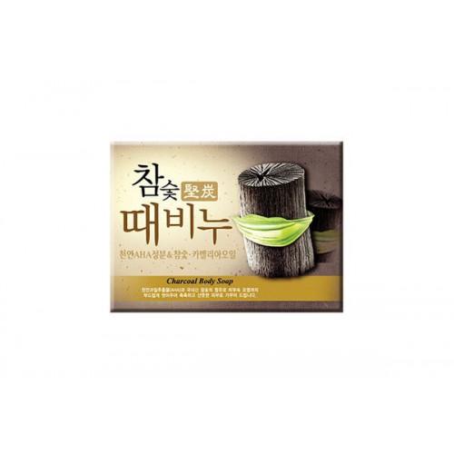 Мыло-скраб древесный уголь Hardwood Charcoal Scrub Soap