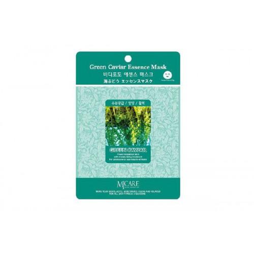 Маска тканевая морской виноград Green Caviar Essence Mask