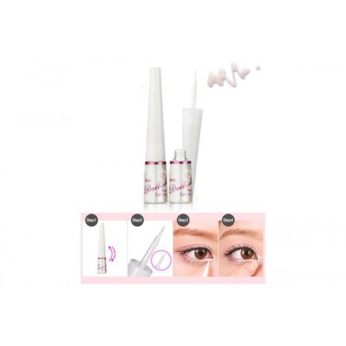 Подводка для глаз перламутровая жидкая Lioele Dollish Pearl Eyeliner Glitter