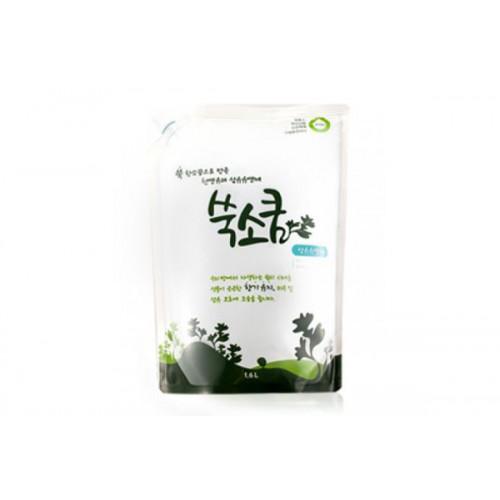 Кондиционер для белья жидкий в мягкой упаковке 1,6 л Fabric Softener Ssook Soo Qoom