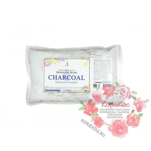Маска альгинатная для кожи с расширенными порами Charcoal Modeling Mask/Refill 240 гр