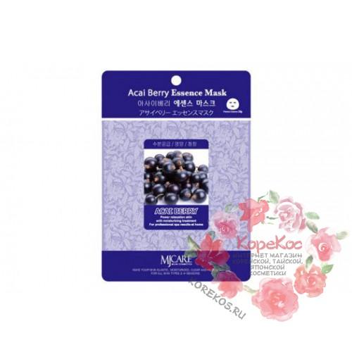 Маска тканевая ягоды асаи Acai Berry Essence Mask