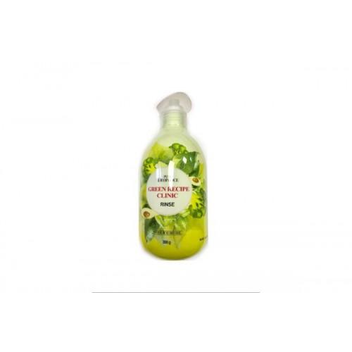 Бальзам для волос укрепляющий против выпадения PURE DEOPROCE GREEN RECIPE CLINIC RINSE